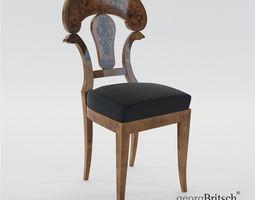 Biedermeier Chair - Austria Vienna 1820 - Georg 3D model
