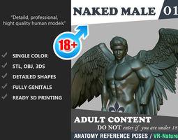 Nake Male Angel 1803081 3D print model