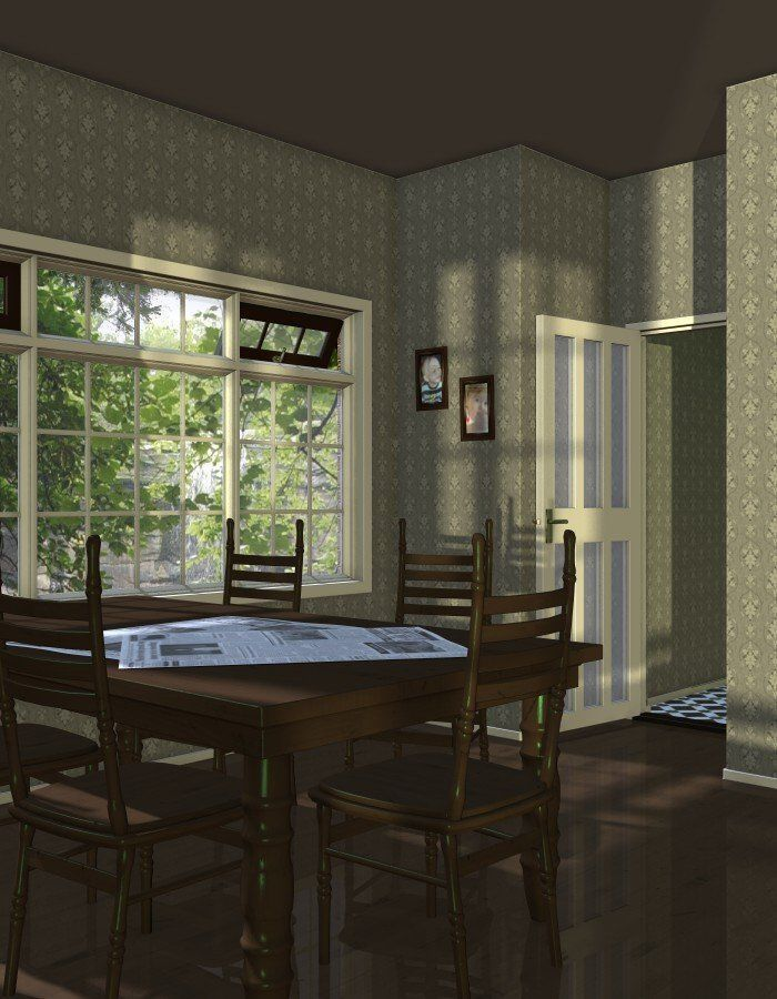 Pick Georgian Windows And French Doors 3d Model Cgtrader