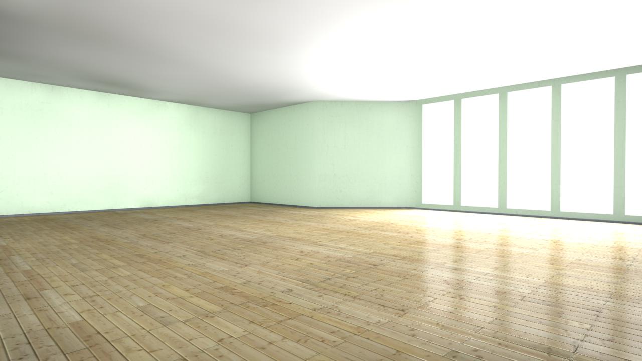 Photorealistic Room 3d Model C4d
