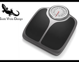 3D Bathroom weight scale