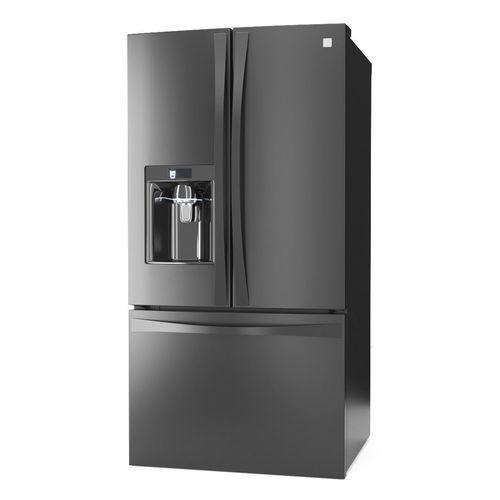 Kenmore Elite 23cu French Door Refrigerator 3d Cgtrader