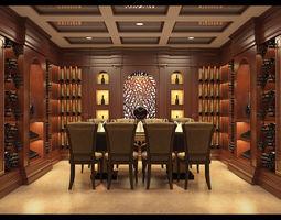 Wine cellar tradition 3D model