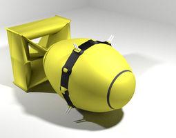 Atomic Bomb - Fat Man 3D