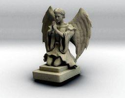 3D printable model Stone Angel