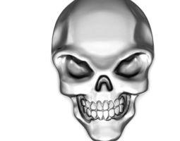 skull 3D print model