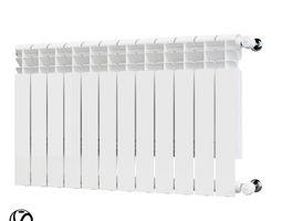 3D model Aluminum radiator