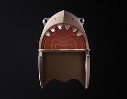 3D model Shark table for kids