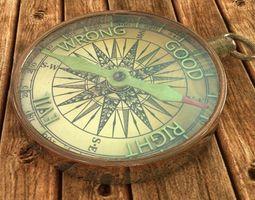3d model moral compass