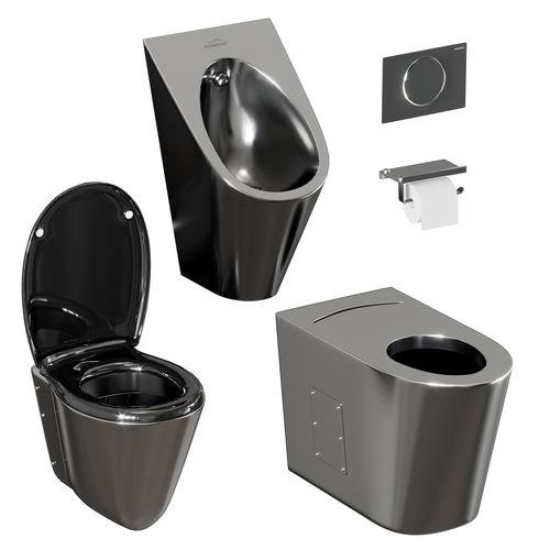 a set of sanitary ware and accessories for bathroom v3 3d model max obj mtl fbx 1