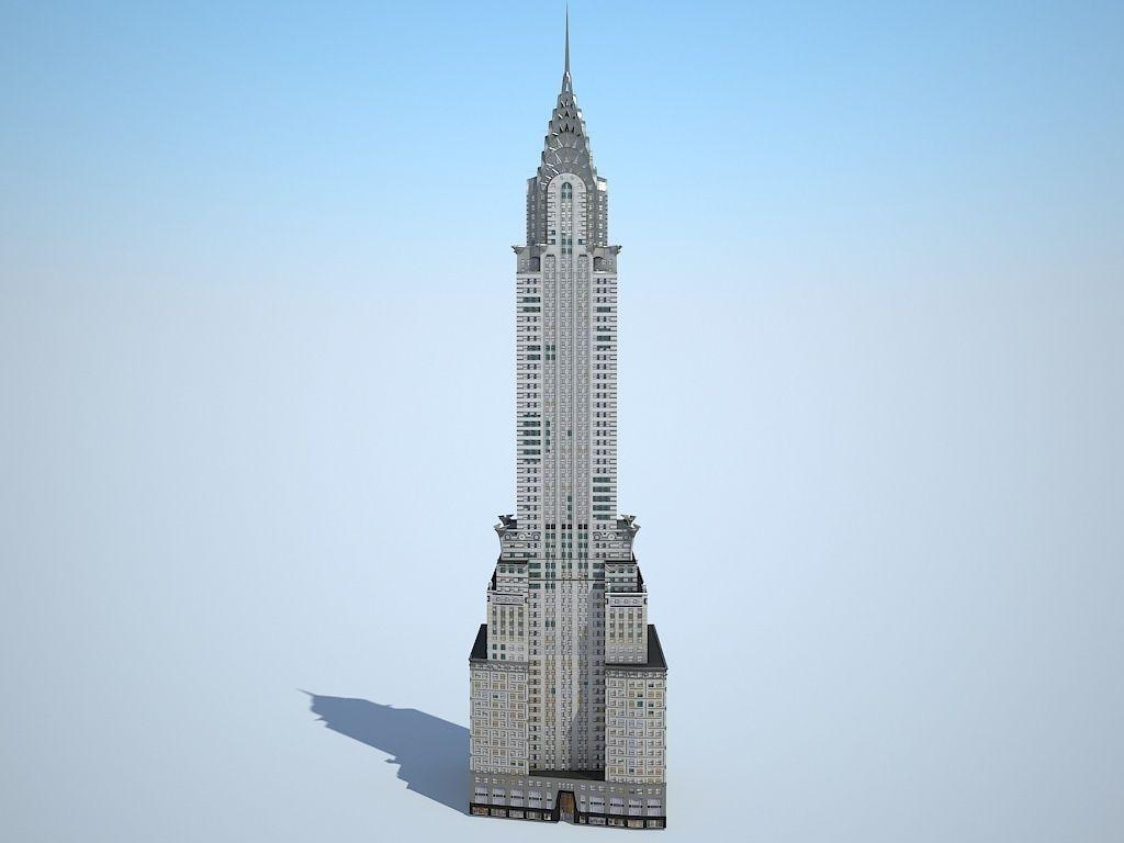 c9b5a416d1a Chrysler Building | 3D model