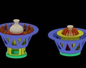 3D print model Device for creating khinkali - Khinkali 1