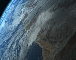 photorealistic earth 3d