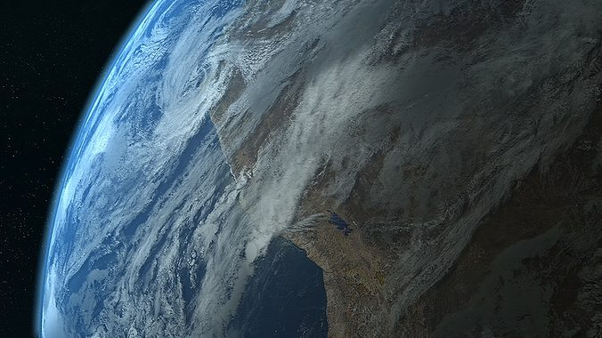 photorealistic earth 3d model c4d 1