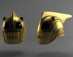 Rocketeer helmet 3D asset