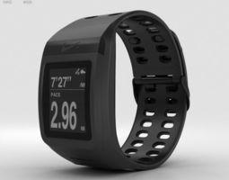 Nike SportWatch GPS Black 3D model
