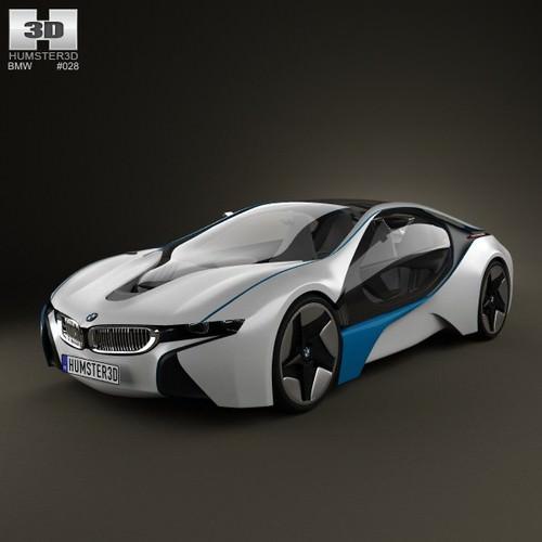 Bmw 6 Series Coupe Concept 2010 3d Model: BMW I8 3D Model MAX OBJ 3DS FBX C4D LWO LW LWS