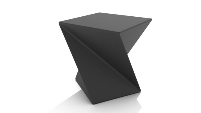 abstract twisted cube coffee table 3d model | cgtrader Cube Coffee Table