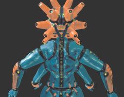 mech goddess 3d printable model