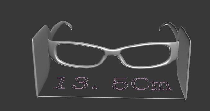 glasses block side light 3d model 3d model max obj mtl fbx 1