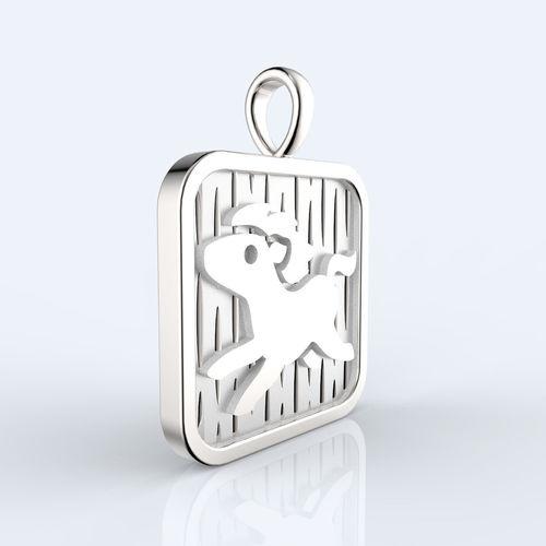 chinese-12-animals-zodiac-pendant-horse-