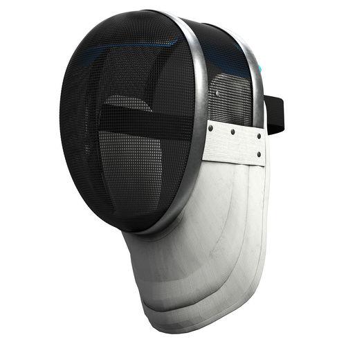 fencing helmet 3d model max obj mtl fbx blend mat 1