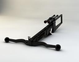 3D Star Wars Chewbacca Gun