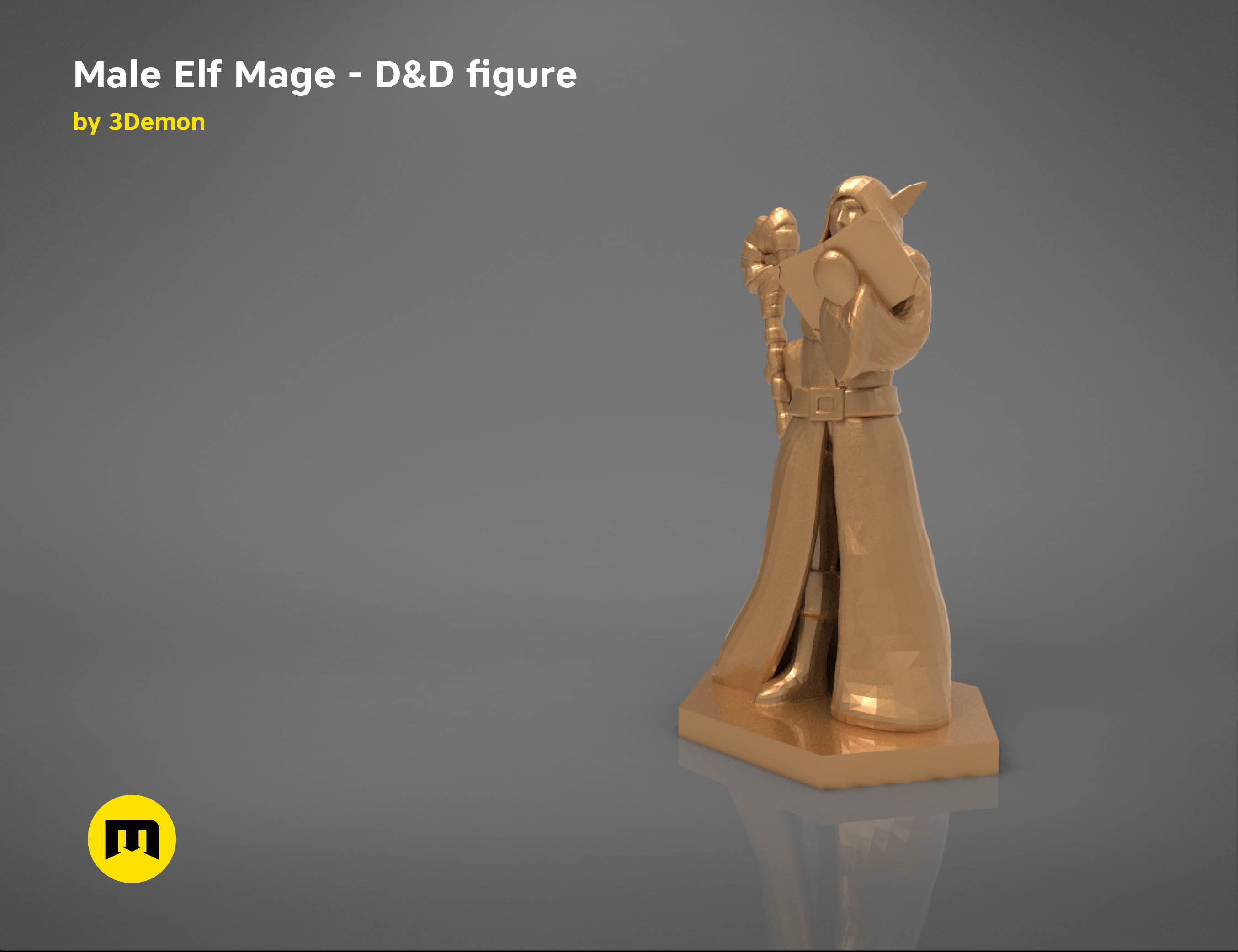 ELF MAGE CHARACTER    GAME FIGURES