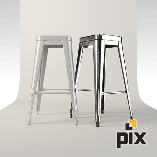 Miraculous Xavier Pauchard Metal Bar Stool 3D Model Machost Co Dining Chair Design Ideas Machostcouk