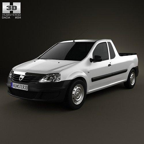 Dacia Logan Pickup 2011 3D