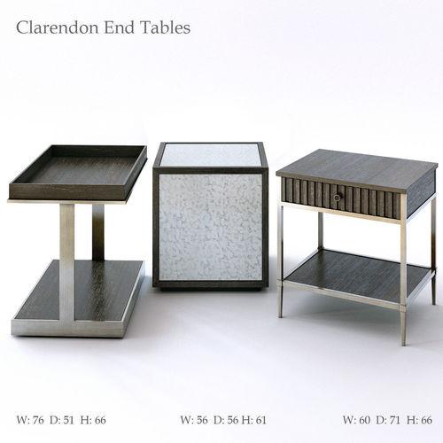 Bernhardt Clarendon End Tables 3D Model