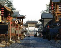 3D model China street 017