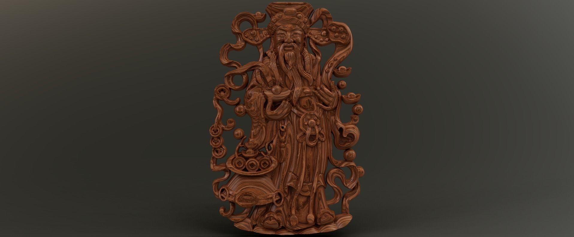 3D print model Old Trader Relief | CGTrader