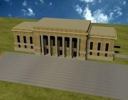 Union Station 3D asset