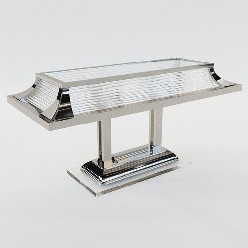 desk lamp paris - art deco style 3d model max obj mtl fbx pdf 1