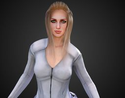 3D White Canary