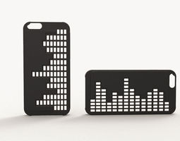 iphone 6 case - equalizer 3d print model