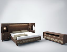 KING BED CLASSIC 3D