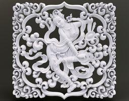 3D printable model Secret Garden Ornament
