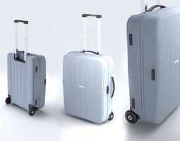Suitcase Samsonite Velocita Upright 55-20 3D