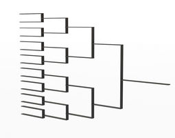 Tournament Bracket 3D
