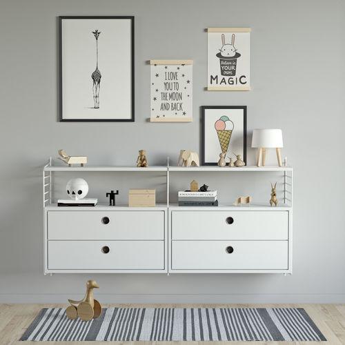 children chest of drawers string system 3d model max 3ds fbx 1