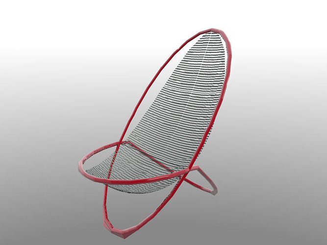 Galaxi Chair Free 3d Model 3ds Cgtrader Com