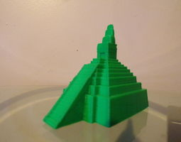 temple Temple of the Jaguar 3D printable model