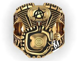 ring son of anarchy 3D print model