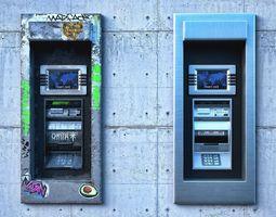 ATM Cash Machine cash 3D