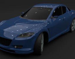 Mazda RX-8 japan 3D