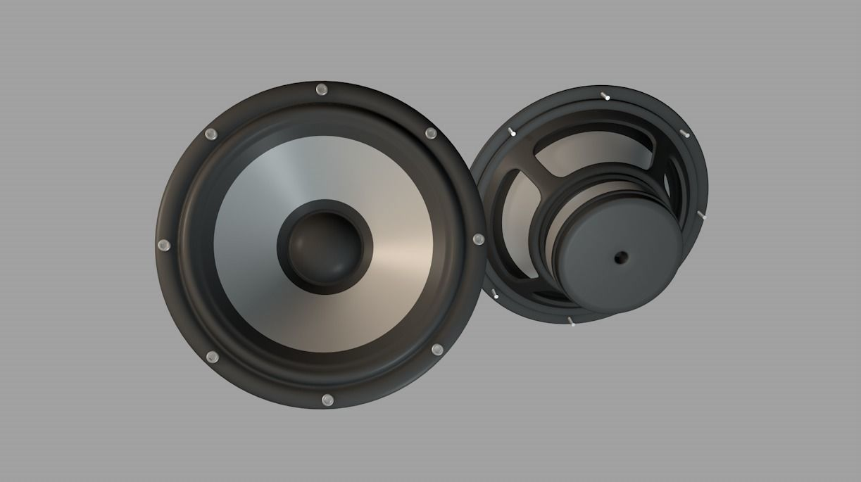 Audio Speaker Bass unit
