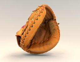 3D Baseball Rawlings catchers mitt