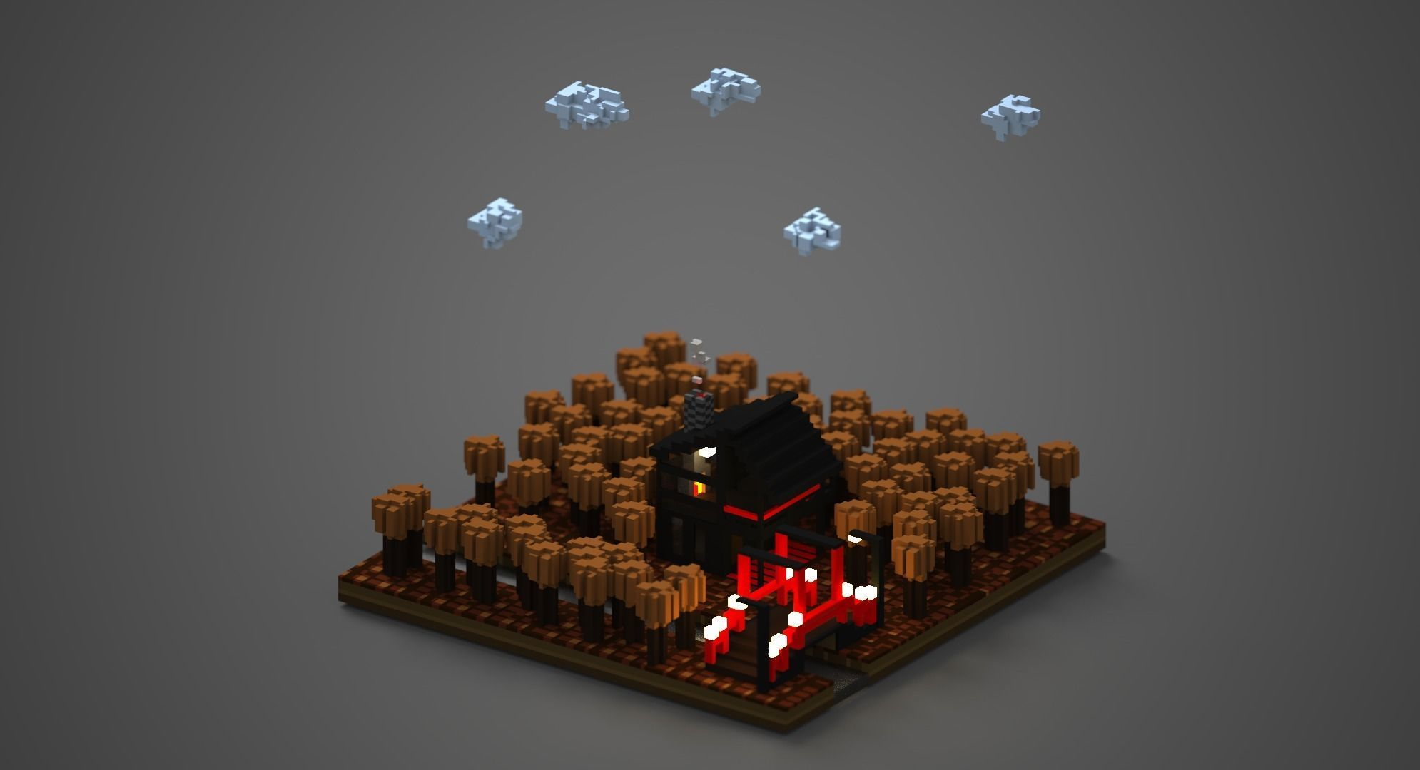 pixel art 3d games